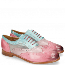 Oxford Schuhe Selina 30 Vegas Bubblegum Light Purple Mermaid Cyber