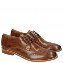 Derby Schuhe Amelie 3 Classic Tan LS Natural