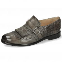 Monk Schuhe Selina 2 Grigio Strap