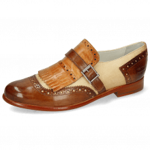 Monk Schuhe Selina 2 Vegas Mid Brown Sand Tan