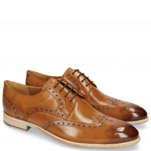 Derby Schuhe Bobby 5 Washed Tan