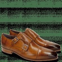 Monk Schuhe Lance 1 Tan