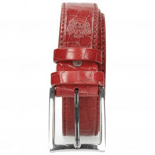 Gürtel Larry 1 Crock Ruby Classic Buckle