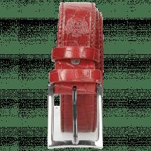 Gürtel Larry 1 Crock Ruby Classic Buckle