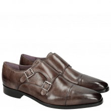 Monk Schuhe Lance 1 Crust Stone HRS