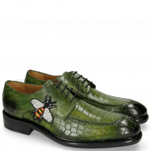 Derby Schuhe Parker 1 Crock Ultra Green