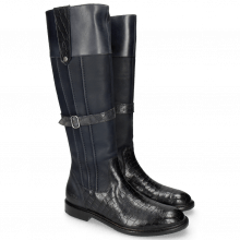Stiefel Sally 86 Crock Talca Navy