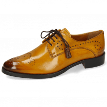 Derby Schuhe Betty 2 Indy Yellow Dark Finishing