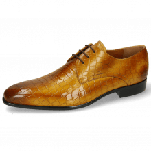 Derby Schuhe Lance 34 Crock Indy Yellow
