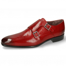 Monk Schuhe Lance 10 Ruby Lining Purple Flex