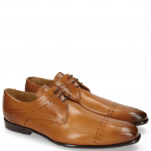 Derby Schuhe Ethan 14 Tan