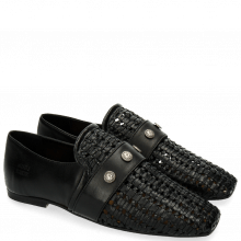 Loafers Erika 2 Black Rivets