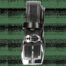 Gürtel Linda 1 Black Sword Buckle