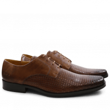 Derby Schuhe Mark 1 Bubble Ecocalf Mink New HRS