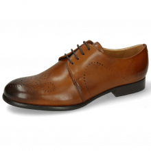 Derby Schuhe Sally 1 Wood Lining Rich Tan HRS