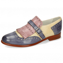 Monk Schuhe Selina 2 Vegas Avio Beige Light Purple