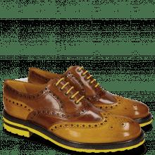 Oxford Schuhe Trevor 1 Ocra Wood Tobacco