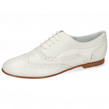 Oxford Schuhe Sonia 1 Nappa Perfo Off White