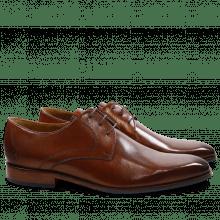 Derby Schuhe Xander 1 Venice Wood HRS Navy