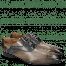 Oxford Schuhe Ethan 11 Crust Stone Crust Navy