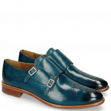 Monk Schuhe Betty 9 Mid Blue
