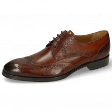 Derby Schuhe Kane 5 Wood Lining Rich Tan