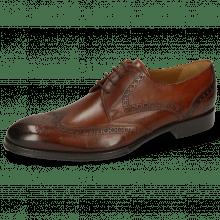 Derby Schuhe Kane 5 Wood Lining Rich Tan