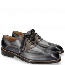 Oxford Schuhe Marvin 12 Navy Crock Grigio