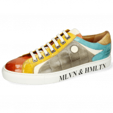 Sneakers Harvey 9  Vegas Turtle Sweet Heart Yellow White Smoke Turquoise