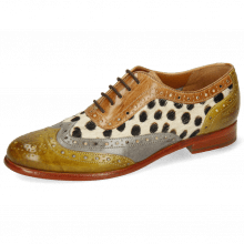Oxford Schuhe Selina 56 Vegas Olivine Digital Sand Hairon Wildcat