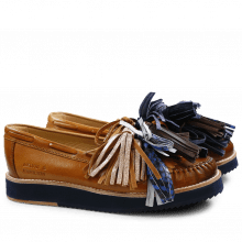Loafers Bea 4 Tan Tassel Multi