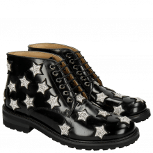 Stiefeletten Bonnie 2 Brush Black Suede Stones Aspen