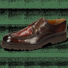 Derby Schuhe Patrick 29 Imola Chestnut Plum Shade Finish