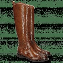 Stiefel Sally 116 Crock Mid Brown Rivets