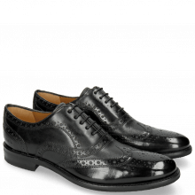 Oxford Schuhe Clint 23 Pavia Black Insole Flex