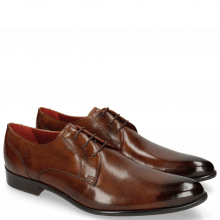 Derby Schuhe Toni 1 Wood Lining Red