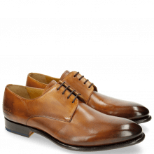Derby Schuhe Lionel 3 Tan LS Brown