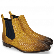 Stiefeletten Luke 2 Interlaced Turtle Yellow