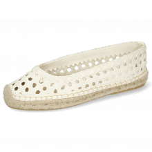 Espadrilles Bree 1 Woven Goat Off White