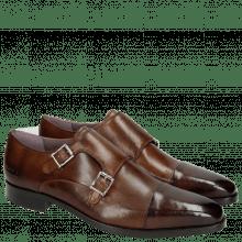 Monk Schuhe Lance 1 Crust Mid Brown HRS