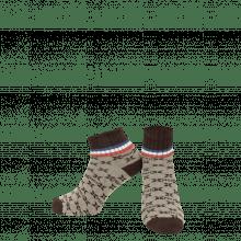 Socken Lorie 1 Ankle Socks Beige Brown