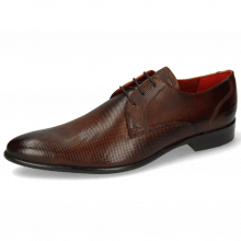 Derby Schuhe Toni 1 Dice Wood LS Brown