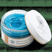 Schuhcreme & Milch Blue Turquoise Cream Premium Cream Blue Turquoise