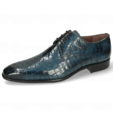 Derby Schuhe Lance 8 Crock Ice Lake Lining Purple