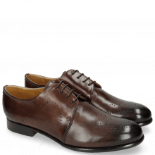 Derby Schuhe Sally 1 Mogano Lining Rich Tan
