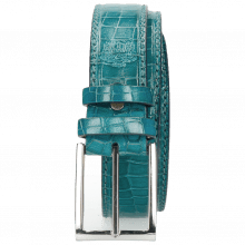 Gürtel Larry 1 Crock Turquoise Classic Buckle