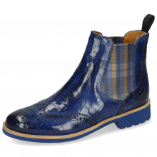 Stiefeletten Selina 6 Crock Electric Blue Elastic Norwegian