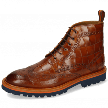 Stiefeletten Matthew 7 Venice Turtle Cognac Loop Orange