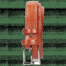 Gürtel Linda 1 Crock Winter Orange Classic Buckle