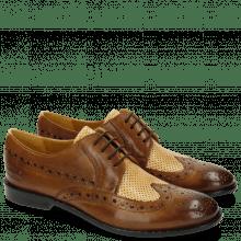 Derby Schuhe Xenia 2 Tobacco Nude